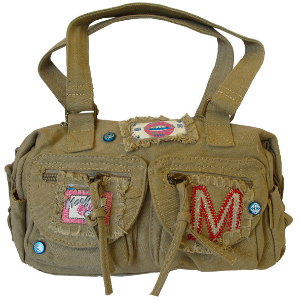 Fashionista Khaki Cute Handbag for Girls - Serbags  - 1