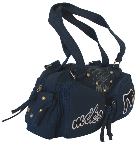 Fashionista Navy Blue Beautiful Handbag for Girls - Serbags  - 2