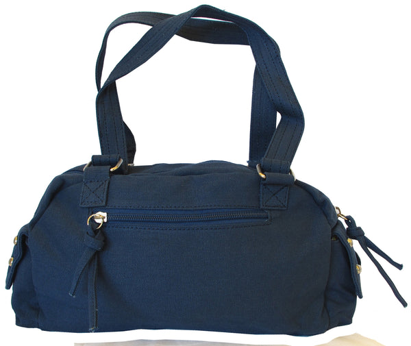 Fashionista Navy Blue Beautiful Handbag for Girls - Serbags  - 4