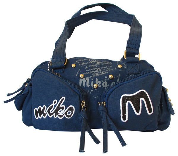 Fashionista Navy Blue Beautiful Handbag for Girls - Serbags  - 1