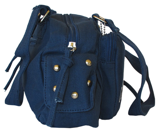 Fashionista Navy Blue Beautiful Handbag for Girls - Serbags  - 3