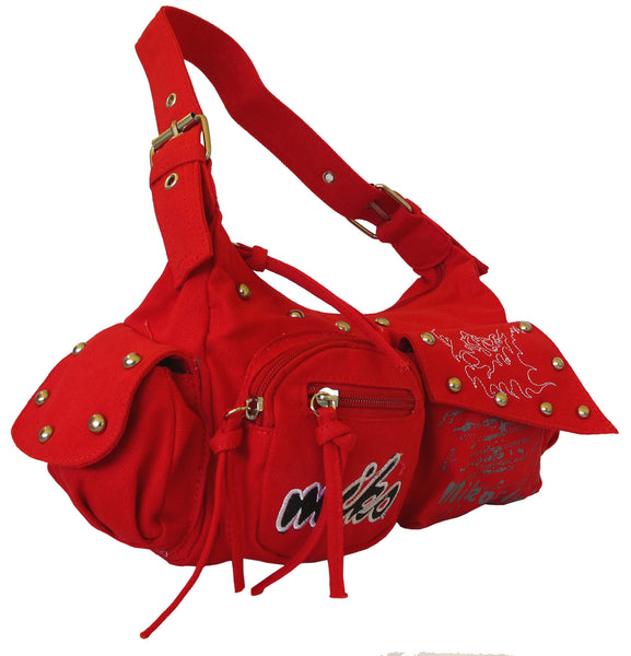 Stylish Red Cute Handbag for Girls - Serbags  - 2