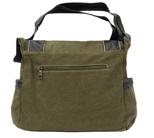 Green Leather Heavy Weight Handbag for Women - Serbags  - 5