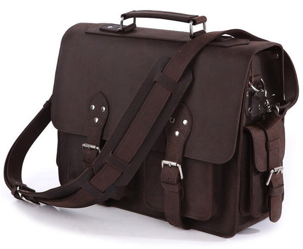 46be550049 Canvas Messenger Bag for Men - Leather Men s Messenger Bags