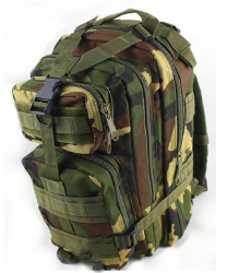 Jungle Camouflage Outdoor Hiking School Backpack Oxford Cloth Nylon - Serbags  - 2