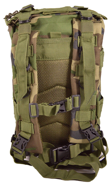 Jungle Camouflage Outdoor Hiking School Backpack Oxford Cloth Nylon - Serbags  - 4