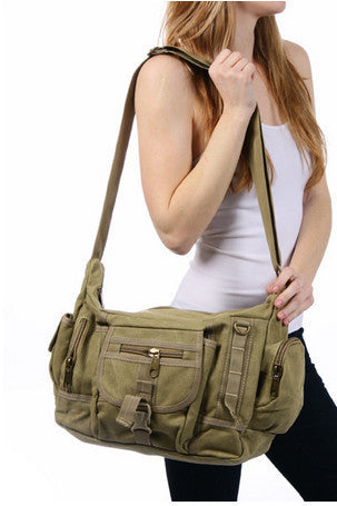 Cross Body Shoulder Multi-Pocket Diaper Bag - Serbags  - 6