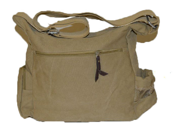 Lightweight Canvas Messenger Bag - Serbags  - 5