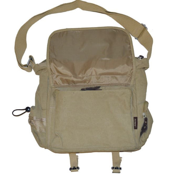 Lightweight Canvas Messenger Bag - Serbags  - 2