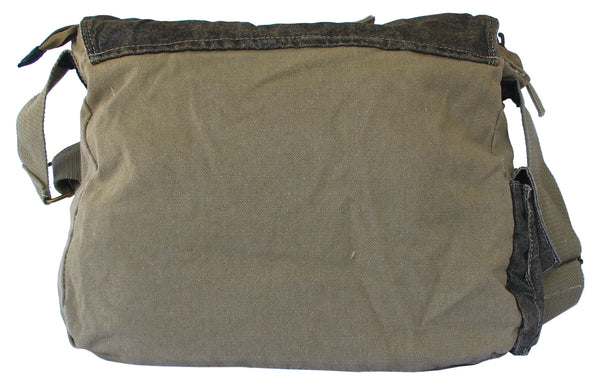 Cotton Laptop Shoulder Canvas Messenger Bag - Serbags  - 4