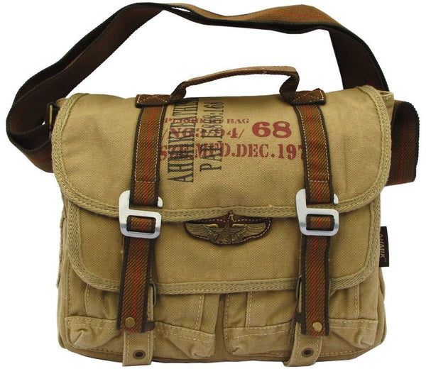 Military Canvas Bike Messenger Bag