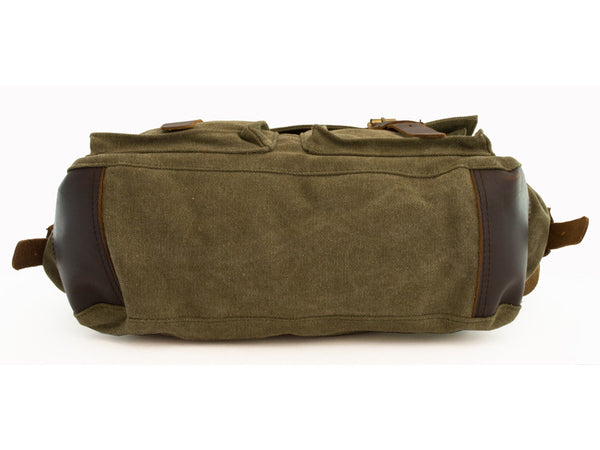 Military Rugged Canvas Messenger Bag - Serbags  - 7