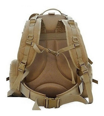 Heavy Load All-Weather Military Hiking Backpack with Adjustable Shoulder Straps