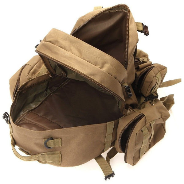 Interior pocket details for the Outdoor Waterproof backpack by Serbags