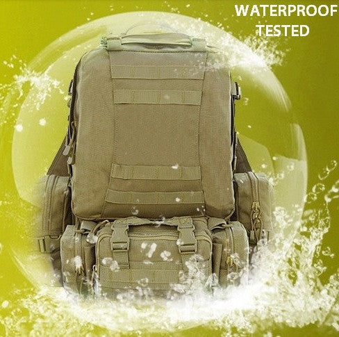 Waterproof military hiking backpack by Serbags