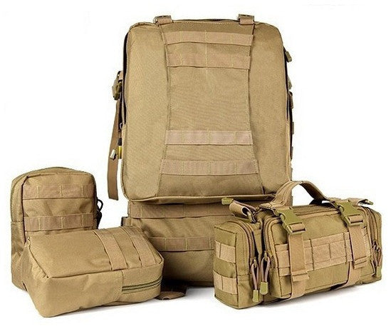 Detachable pouches - Serbags military hiking backpack