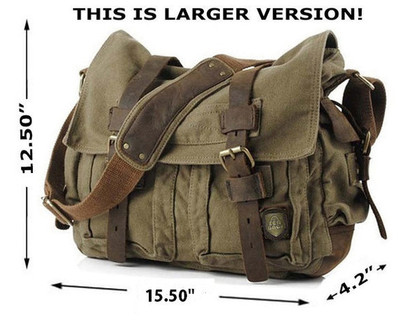 serbags military messenger bag