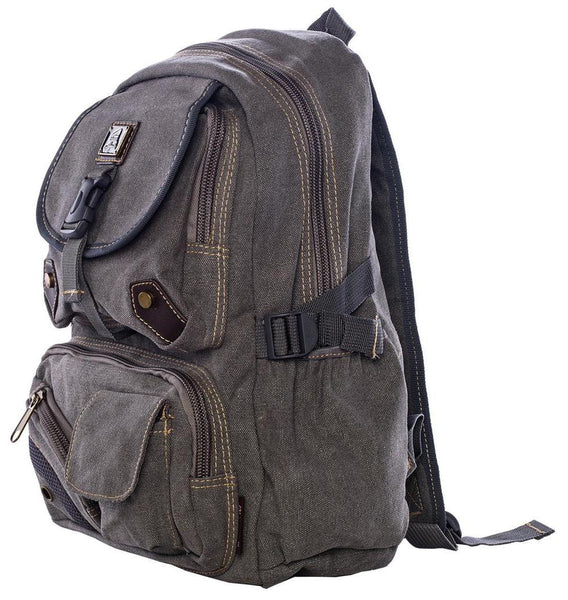 Modern Vintage Fused School Backpack