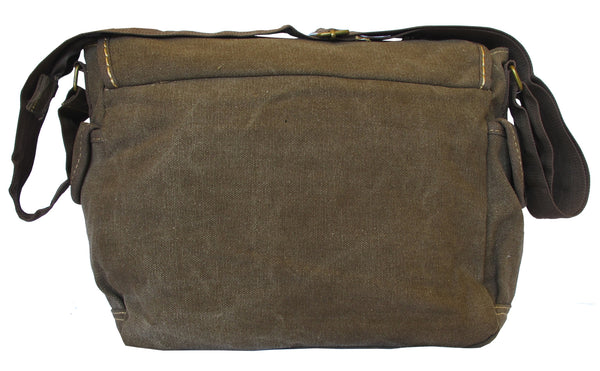 Multi-Pocket Vintage Messenger Bag - Serbags  - 4