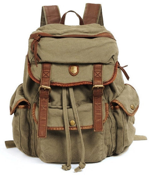 Canvas Backpack Vintage Backpacks Amp Rucksacks For Women