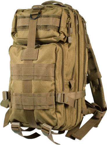 Outdoor Hiking School Backpack Brown Oxford Cloth Nylon - Serbags  - 3