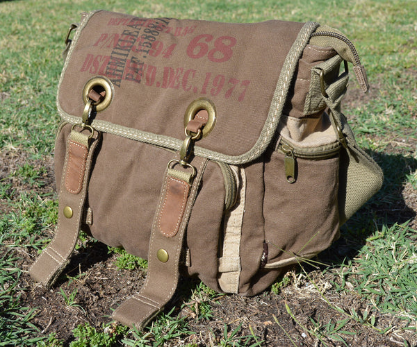 Retro Bike Messenger Bag - Serbags  - 1