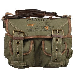 Retro Style Canvas Messenger Bag - Serbags  - 8