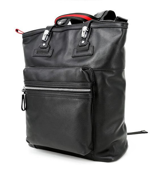 Urban Leather Computer Strudent Backpack
