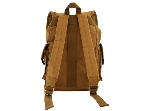 Heavy Duty Canvas School Rucksack with Leather Trims - Serbags  - 8