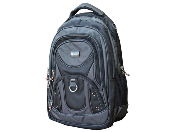 Laptop Backpack with Multi Pocket and Laptop Sleeve - Serbags  - 4