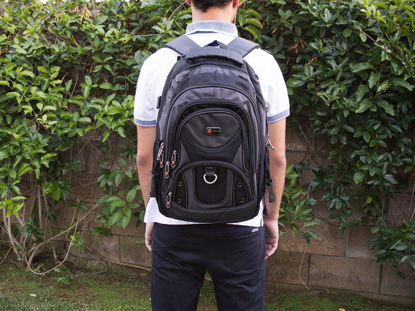 Laptop Backpack with Multi Pocket and Laptop Sleeve - Serbags  - 7