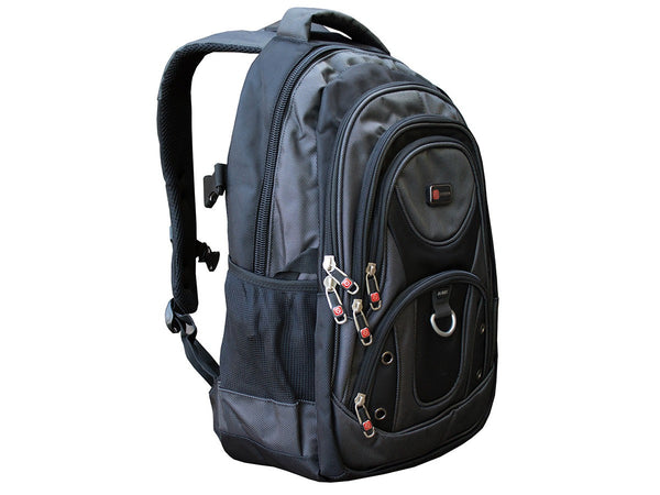 Laptop Backpack with Multi Pocket and Laptop Sleeve - Serbags  - 3