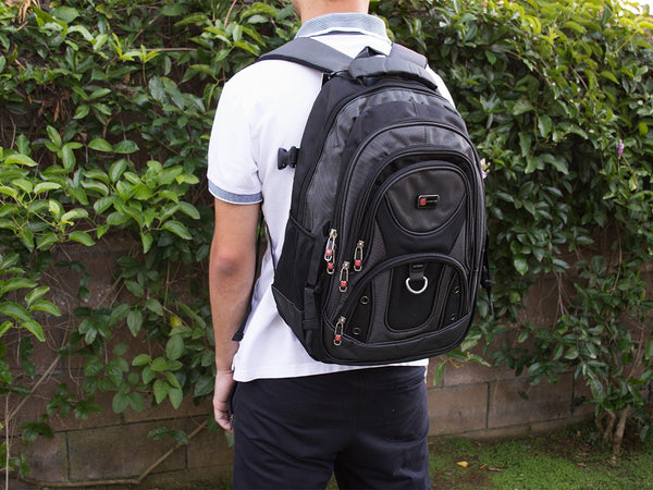 Laptop Backpack with Multi Pocket and Laptop Sleeve - Serbags  - 6