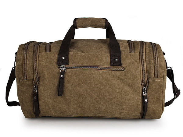 Large Weekender Classic Canvas Duffle Bag