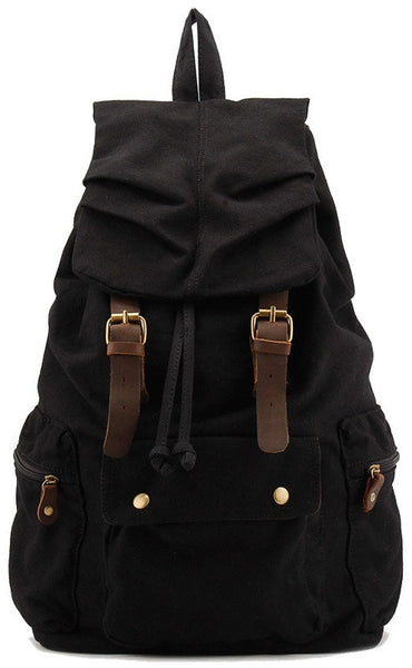 Black heavy duty military rucksack by serbags