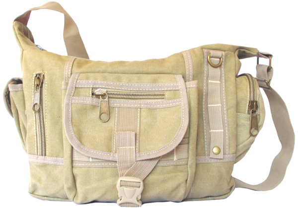 Multi Pocket Shoulder Crossbody Diaper Bag - Serbags  - 1