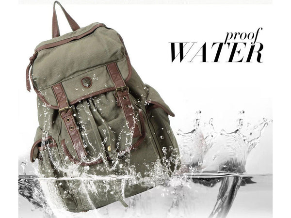 Waterproof Canvas Backpack by SerBags