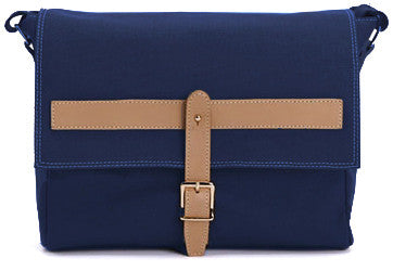 Preppy Cross Body Canvas Blue - Serbags  - 2