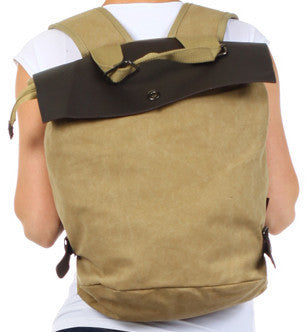 Rucksack Vintage Inspired Backpack - Serbags  - 1