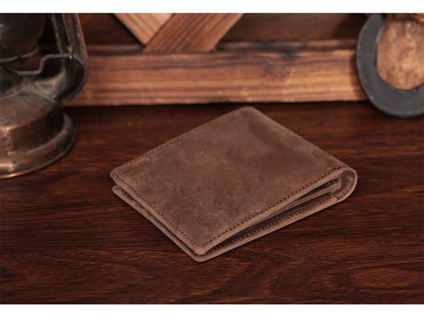 Slim Wallet Genuine Leather Vintage - Serbags  - 12