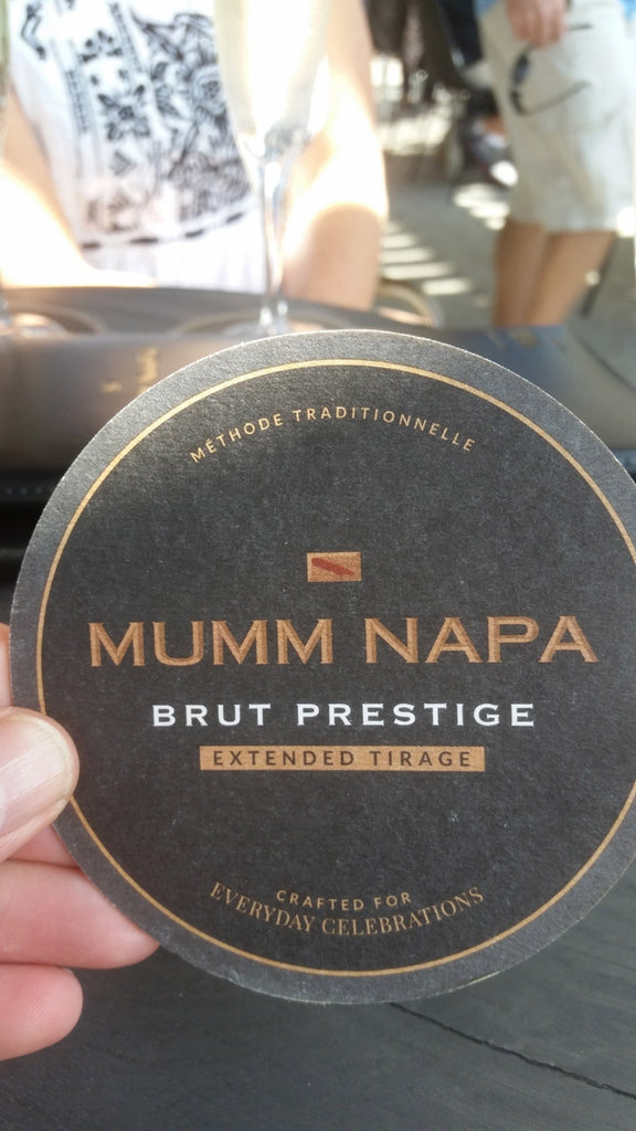 Label of Mumm Brut