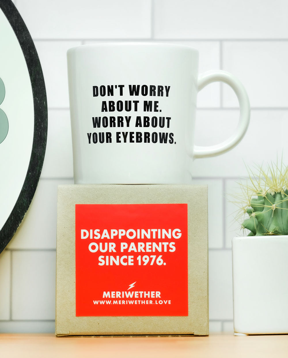 Worry about your eyebrows... Coffee Mug