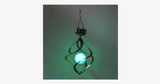 Green Color Changing Wind Chime Garden Light