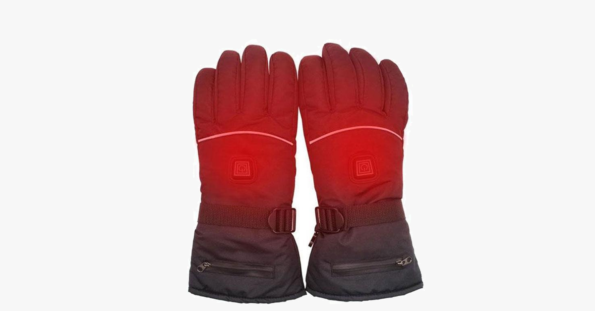 Electric Heated Gloves for Women Men