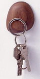 Magic Wood Magnet Keys Hook (Beech & Walnut Colors Available)