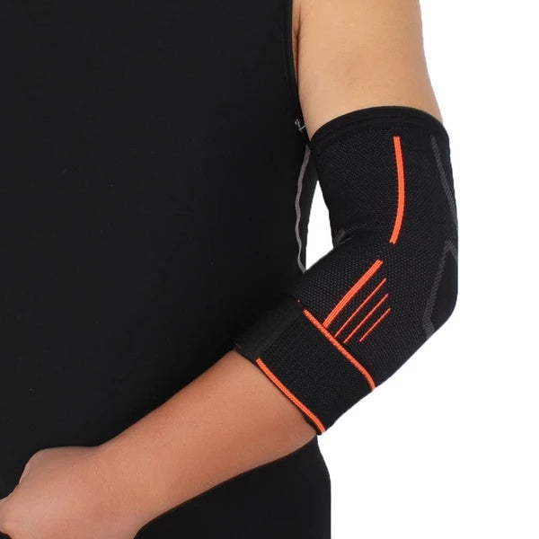 Strap Guard Wrap Band Elbow Support Elastic Gym Sport Elbow Protective Pad