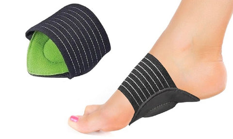 Comfort Cushion (2 Pack): Plantar Fasciitis Insoles High Arch Foot Supports