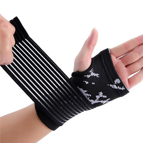 wrist compression support sleeve