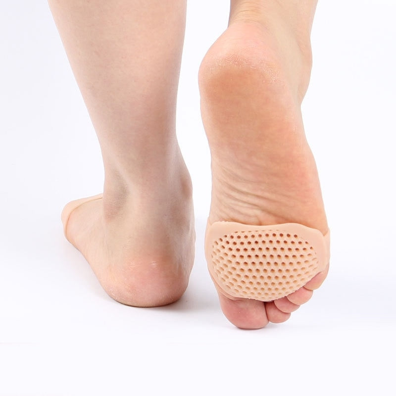 Honeycomb Metatarsal Gel Pads, Ball of Foot Cushion Breathable Foot Pain Relief, Toe Seperator for Men and Women