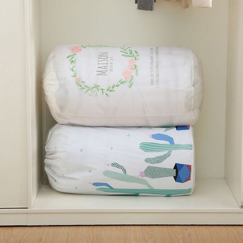 closet organizer bags for blankets